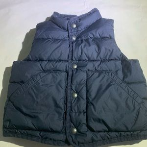 4/$25!! Baby Gap Navy Blue Puffer Vest 18-24 mo.